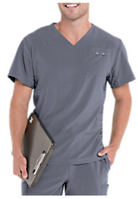6e38452f718 See Details item #9150 · Urbane Performance Quick Cool Men's V-neck Scrub  Tops