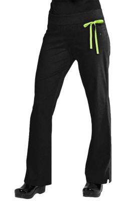 Urbane Sport Knit Roll-Tops Yoga Stretch Scrub Pants