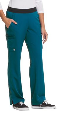 HH Works Rachel 6 Pocket Straight Leg Yoga Waist Scrub Pant
