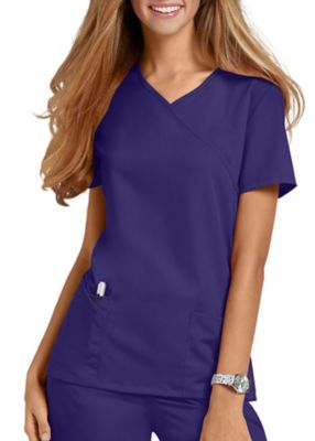 Urbane Ultimate Sophie Mock Wrap Scrub Tops