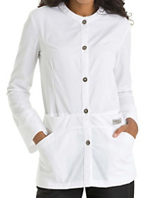 High Collar 32 Inch Lab Coat