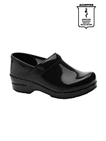 Patent Leather Nursing Clogs