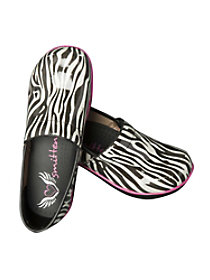 Wild At Heart Zebra Nursing Clogs