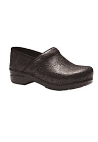Dansko Pro XP Black Medallion Nursing Clogs