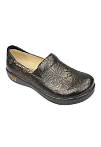 Alegria Keli Bronze Bouquet Nursing Clogs