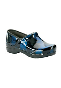 Dansko Pro XP Blue Hibiscus Nursing Clogs