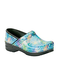 Dansko Professional Speckled Patent Nursing Clogs