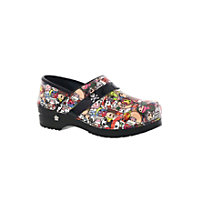 Koi By Sanita Professional Kaeleigh Patent Clogs