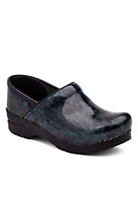 Dansko Professional Blue Metallic Nursing Clogs