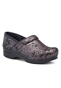 Dansko Professional Pewter Iridescent Nursing Clogs