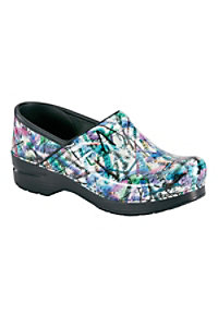 Dansko Professional Graffiti Patent Nursing Clogs