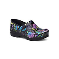 Dansko Professional Wildflower Patent Clogs