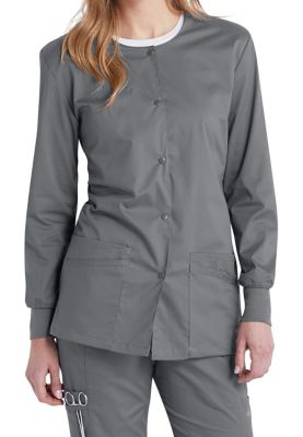 Urbane Uflex Snap Front Scrub Jackets
