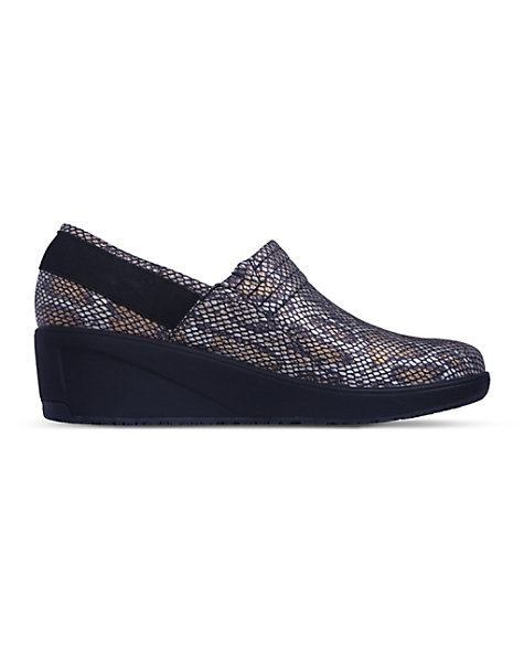 7540600cd90 Infinity By Cherokee Glide Slip-On Wedge Nursing Shoes | Scrubs & Beyond