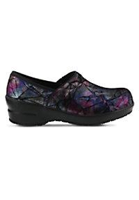 bf09c3e1c7211 See Details item  98972 · Spring Step Professional Selle Foil Purple Multi  Slip-On Nursing Shoe