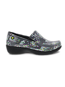 Grey Zoo Patent Nursing Clogs