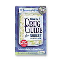 Davis Drug Guide Nurses Reference Book With CD ROM