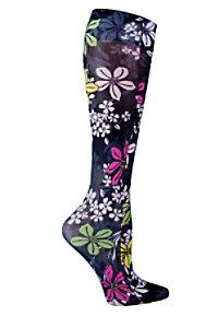 Cherokee Legwear Fashion Support Compression Socks