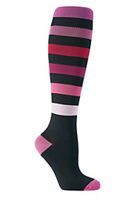 Beyond Scrubs Fashion Compression Scrub Socks
