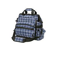 Nurse Mates Navy Floral Geometric Ultimate Nursing Bag