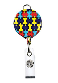 Beyond Scrubs Retractable Print Badge Holders