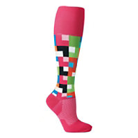 About The Nurse Geo Compression Socks