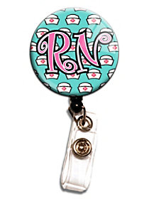 RN Retractable Badge Holders
