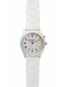 Rainbow Textured Strap Watch