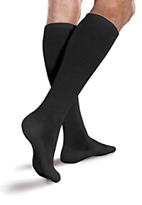 Therafirm Unisex Cushioned Core-Spun Compression Socks