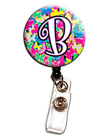 Butterfly Letter Retractable Badge Holders