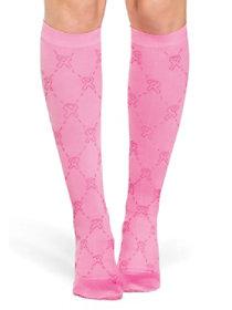 Light Support Diamond Awareness Trouser Socks