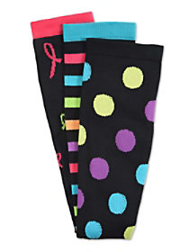 3 Pair Print Compression Socks