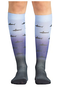 e553b5cac02 See Details item #99839 · Koi Unisex Shark Attack Compression Socks