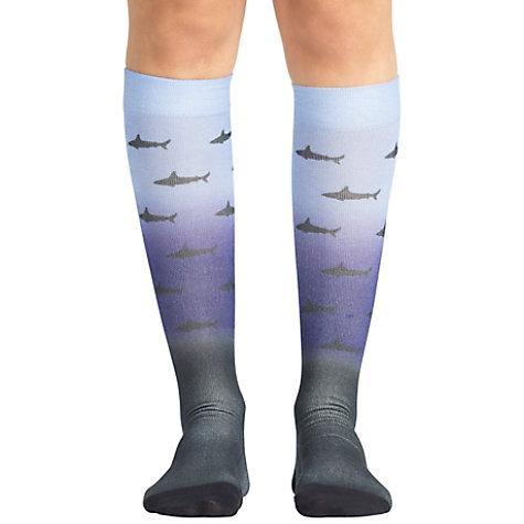 6f5e0b2ac5 Koi Unisex Shark Attack Compression Socks   Uniform City