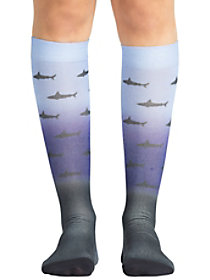Shark Attack Compression Socks