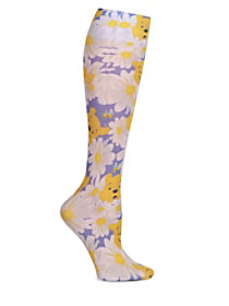 Cherokee Tooniforms Print Compression Socks