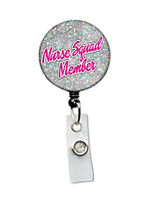 Nurse Squad Retractable Badge Holder