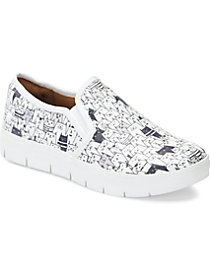 Black and White Cats Slip On Shoe