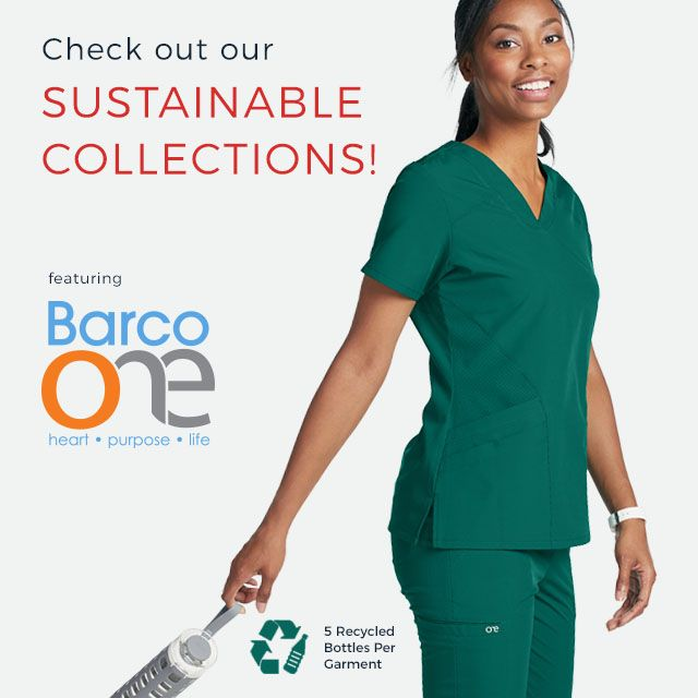 Check out our sustainable collections like Barco One!