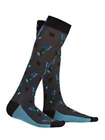 Antimicrobial Print Compression Socks