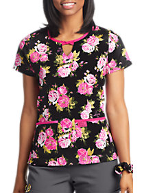 Beautiful Rose Print Top