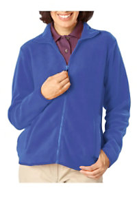 Blue Generation Ladies Full Zip Fleece Jacket