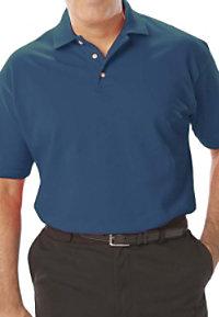 Blue Generation Men's Pique Polo Tees