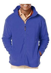 Blue Generation Men's Full Zip Fleece Jacket