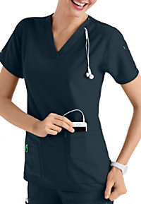 Carhartt Cross-Flex V-neck Media Scrub Tops