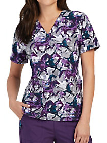 Stallion Stride Print Top