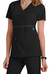 Carhartt Cross-Flex Knit Mix Wrap Scrub Tops