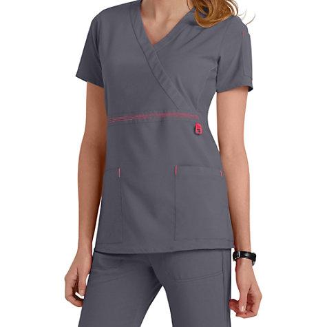 3364d391c61 Carhartt Cross-Flex Knit Mix Wrap Scrub Tops | Uniform City
