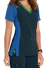 Carhartt Cross-Flex Color Block V-neck Scrub Tops