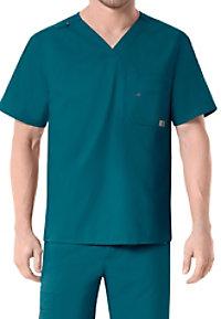 Carhartt Rockwall Men's Multi Pocket V-neck Scrub Tops